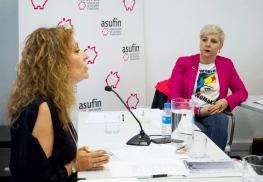 """María José Lunas, abogada colaboradora de ASUFIN y ponente de """"Tasación en costas"""""""