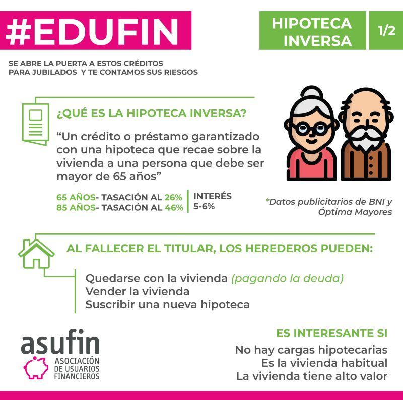Hipoteca Inversa . ASUFIN . 1