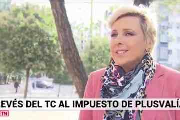 Patricia Suárez sobre Plusvalías - Informativos TELEMADRID - 01.11.19