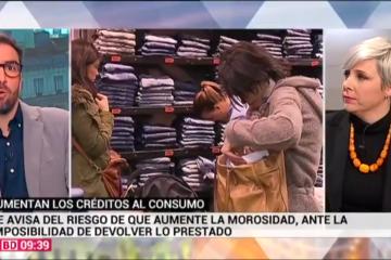 Patricia Suárez sobre Revolving - TELEMADRID - 11.01.20