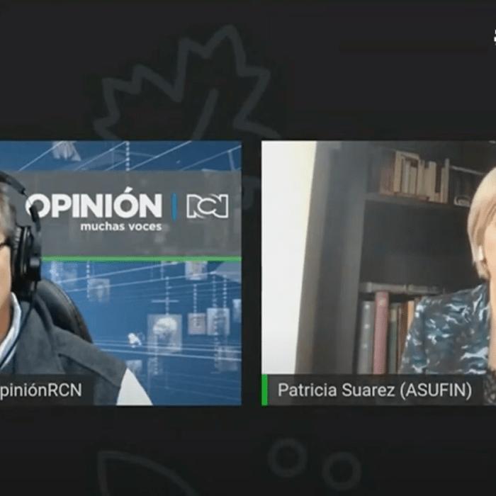 INVERSA | Patricia Suárez, en la cadena RCN de Colombia: «Es un producto que no ha funcionado en España»