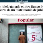ASUFIN EN LOS MEDIOS|Una pareja de asociados recupera 800.000€ invertidos en preferentes