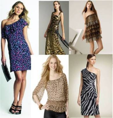 Different Styles of Animal Print Dresses