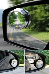 Wide Angle Round Convex Adjustable Mirror For Cars