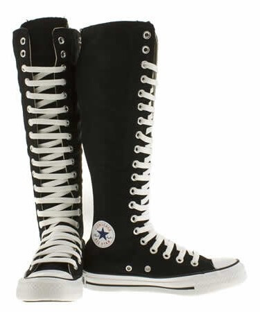 fcc8f41d1cb9 An Overview Of The Knee High Converse Boots