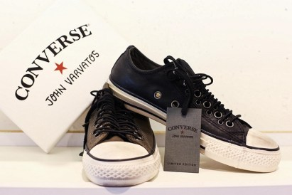 Buy The Authentic Black and White Converse by John Varvatos