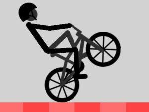 لعبة الدراجة البهلوانية