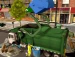 لعبة شاحنة القمامة الرهيبة