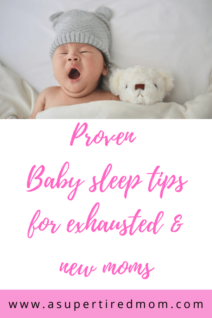 Proven Baby sleep tips for exhausted & new moms