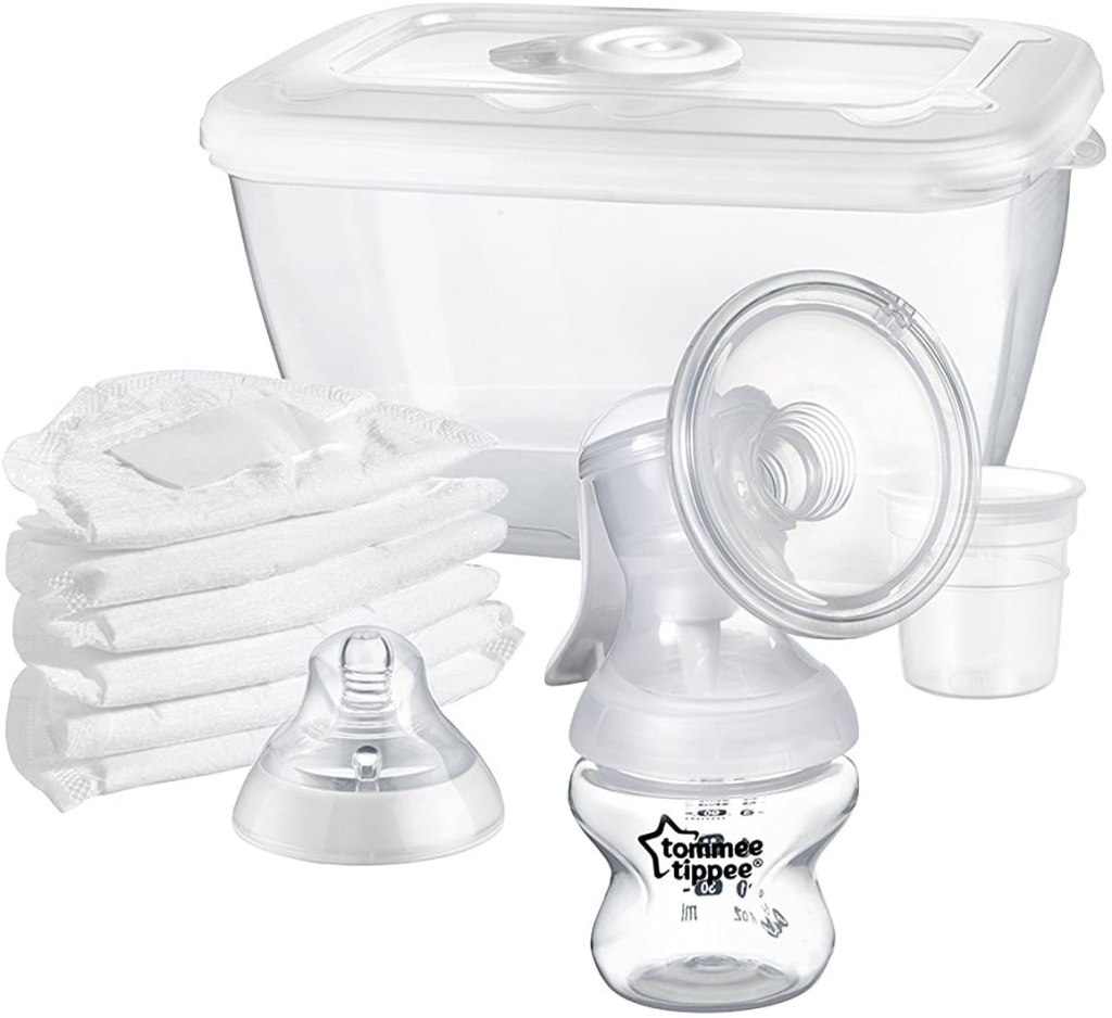 tommy tippy manual breast pump