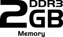Gigantic 2GB DDR3 Memory