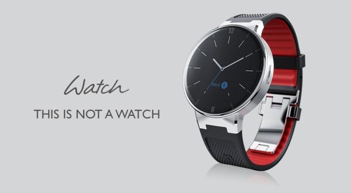 El reloj inteligente de Alcatel