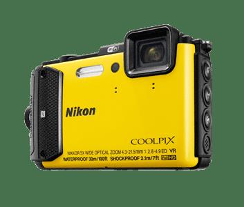 Cámara Nikon todoterreno, para agua y situaciones extremas