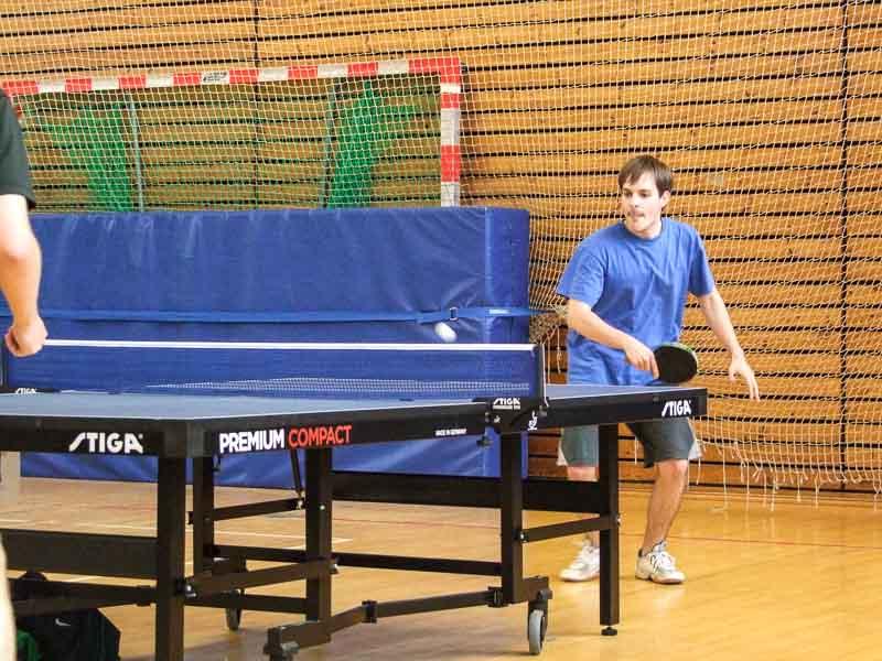 Matthias im Herreneinzel-Wettbewerb der Tegel Open 2014