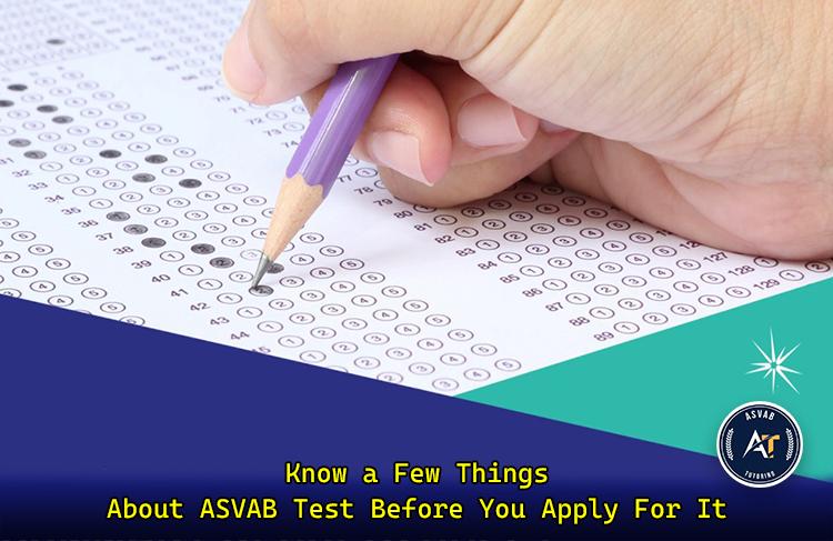 Apply for ASVAB Test