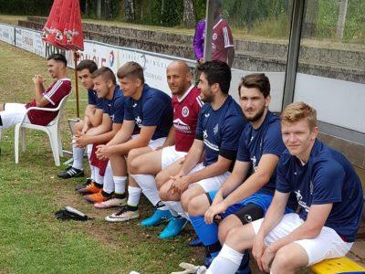 Bank des ASV Fürths im Zirndorfer-Cup 2019