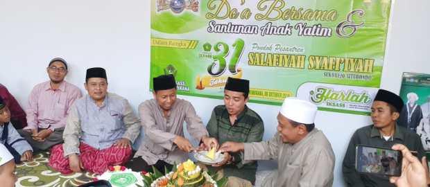 IKSASS Jembrana Rayakan Harlah Ke-31 dengan 'Nasi Ghulung'