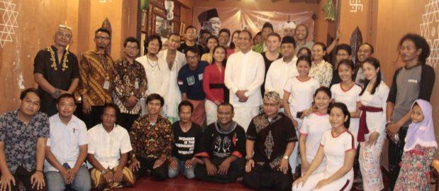 Ashram Gandhi, LTNNU Bali dan Lintas Komunitas Gelar Haul Gus Dur
