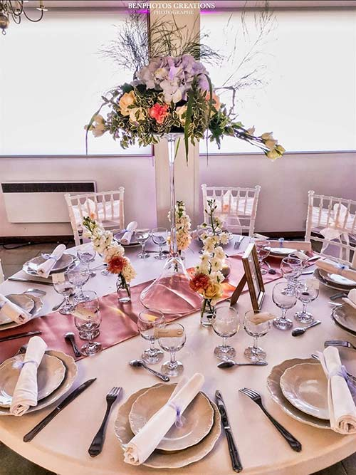 Table repas wedding designer