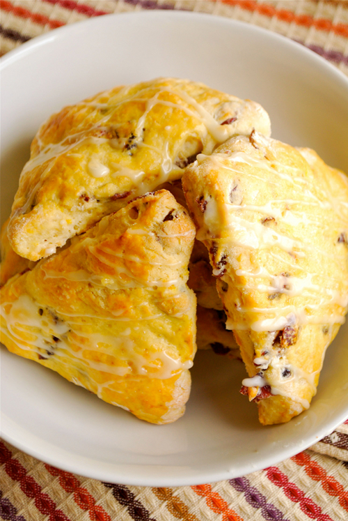 Cranberry Orange Scones recipe and images by Lacey Baier, a sweet pea chef