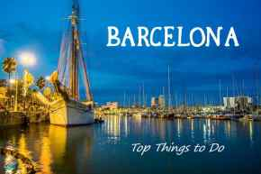 Top must-see sights in Barcelona