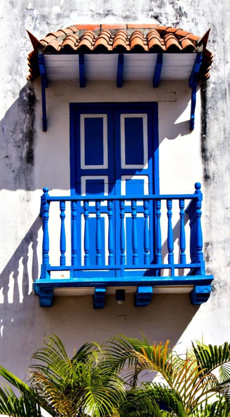 Colonial Cartagena is full of colorful architecture and a UNESCO world heritage site..
