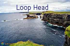 The Irish cliffs at Loop Head