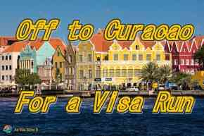 Off to Curacao for a visa run