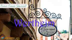 Wertheim Germany is famous for its glass