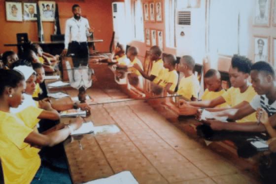 Youth Presentation at Asyarf anti-corruption