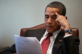 President Obama reads Professor Hing's letter.