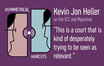Episode 7 – Justice via the backdoor with Kevin Jon Heller