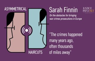 Episode 33 – Universal Jurisdiction Close Up with Sarah Finnin and Patrick Kroker