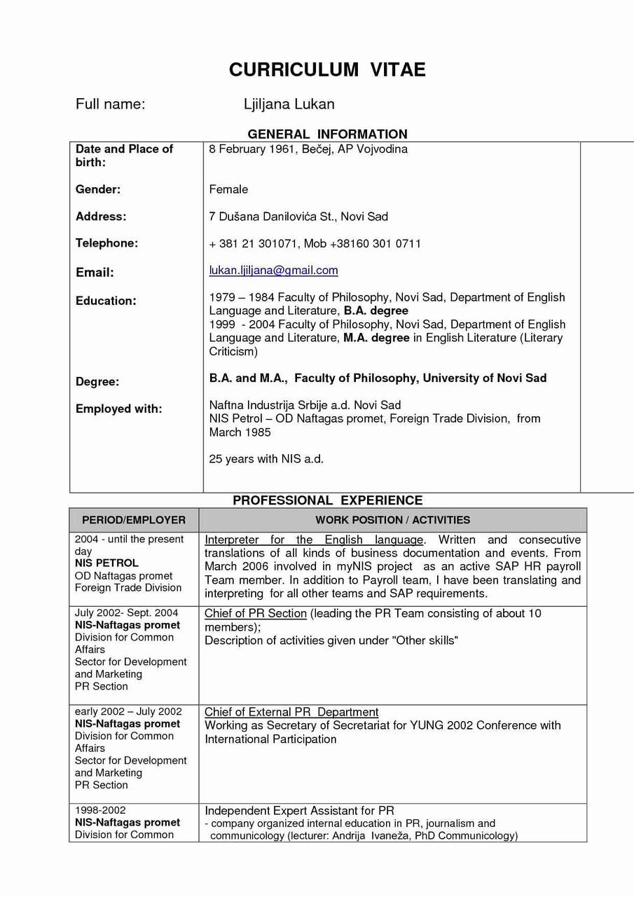 10 Biotech Resume Template Examples Resume Database Template