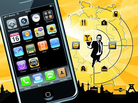 iphone meinestadt