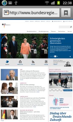 Bundesregierung Deutschland mobil