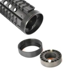 AR 15 Handguard - AT3 Free Float Quad Rail Parts Grande
