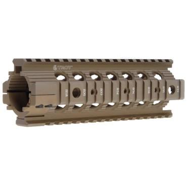 Troy Carbine Length Battle Rail AR-15 Drop-In Quad Rail