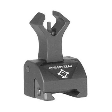 Diamondhead Front Sight - Folding - Gas Block Height - AR15/M4/M16 - 1551