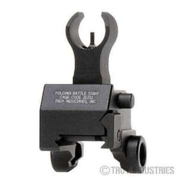 Troy Front Sight - Folding - Gas Block Height - HK Style - Optional Tritium