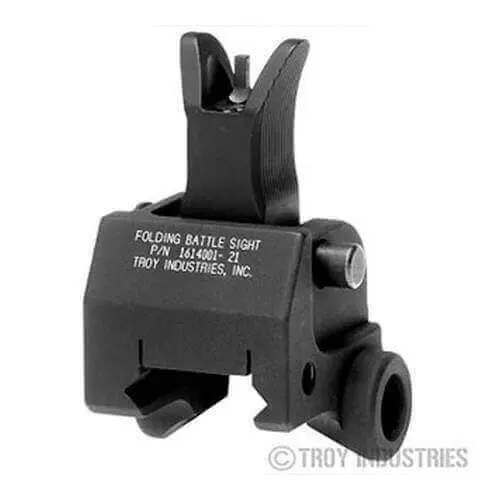 Troy Front Sight - Folding - Gas Block Height - M4 Style