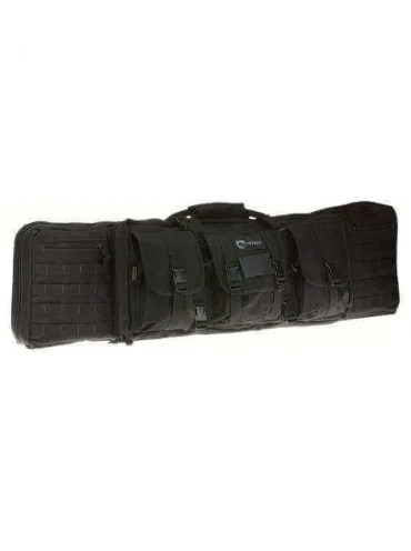 """Drago Gear 42"""" Double Rifle Case - 4 Colors Available"""