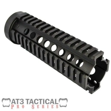 "BLEMISHED - AT3 Tactical 7"" Carbine-Length Free Float Quad Rail Handguard - Pro Series"