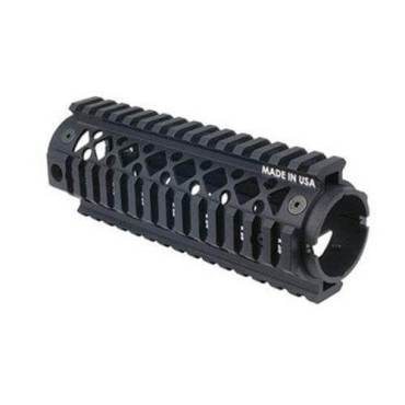 BlackHawk AR15 Carbine Length Quad Rail Forend 2 Piece  - 71QF01BK