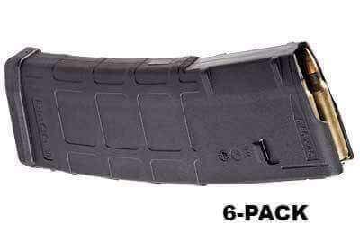 6-Pack - Magpul PMAG 30-Round M2 MOE Mag - .223 / 5.56 NATO