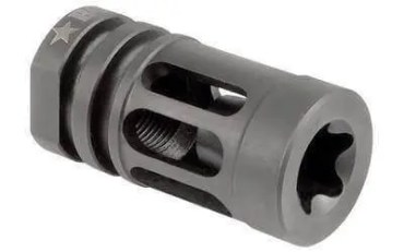 Bravo Company Compensator Flash Hider MOD0 - .223/5.56 AR Rifles - Black - BCM-GFC-MOD-0-556