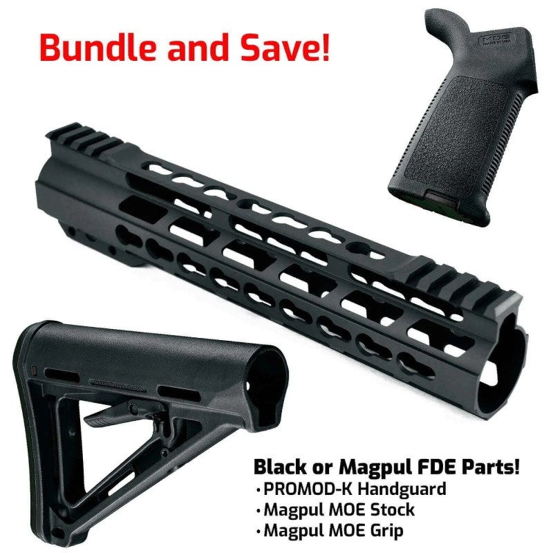AT3 PROMOD-K Furniture Kit - AT3 KeyMod Handguard, Magpul Stock & Grip