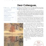 Newsletter Fall 2006