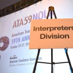 [Interpreters Division table - Welcome Reception - ATA59]