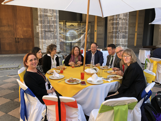 Lunch at Lenguas 2019